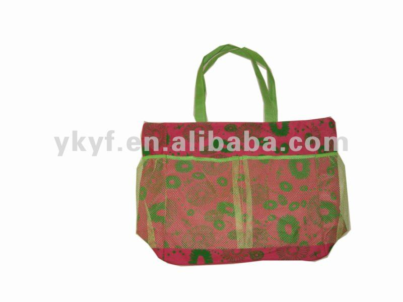Highly individual character style beach bag tote