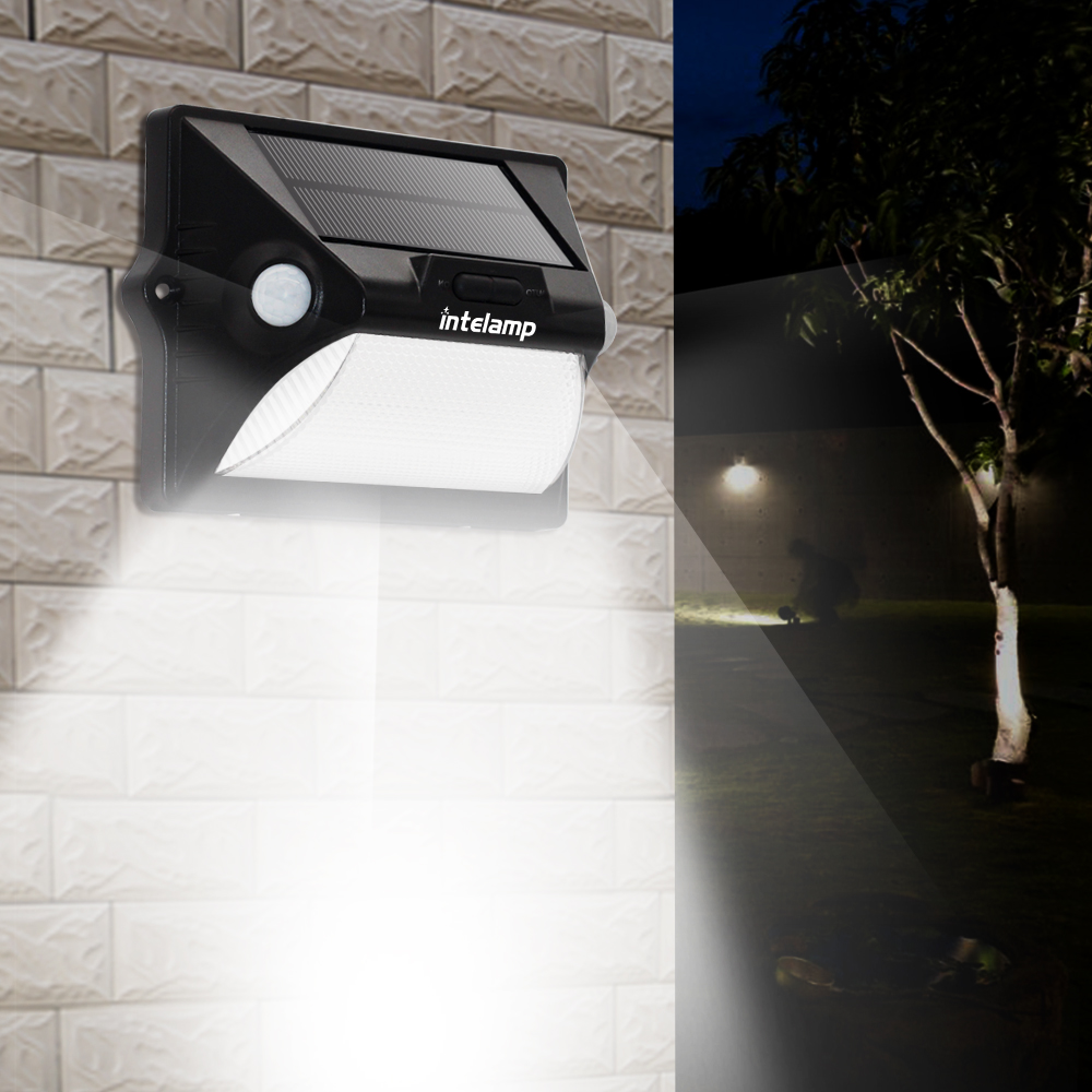 led lamp solarWireless Security Motion Sensor Solar Night Lights LED Solar Lamp Waterproof Outdoor Solar Fence Pathway Porch Gar