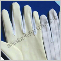 PU coated ESD gloves for LED