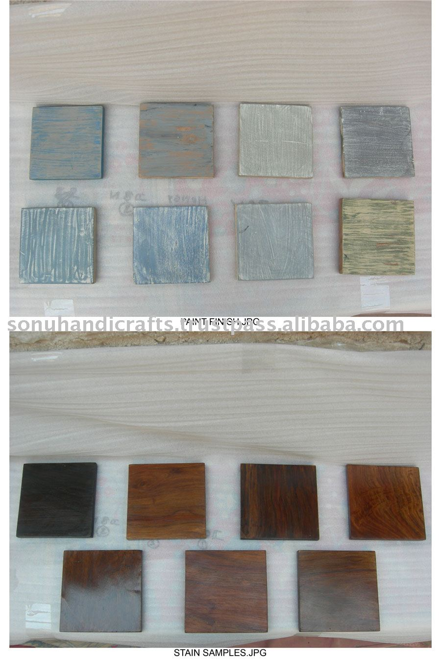 FURNITURE FINISHES SAMPLE PAINT
