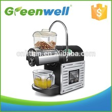 On time delivery convenient and affordable hot sale small cold home oil press machine use for sesame/peanut