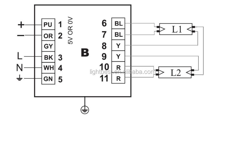 Uv Lamp Electronic Ballast Ph2-800-2 75u 110v 230v Universal