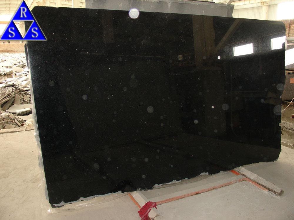 Komplett Neu Black Granite Black Galaxy Tile And Slab - Buy Black Galaxy,Black  GY95