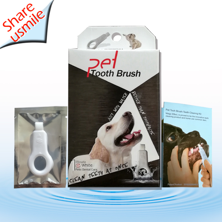 New Arrival 2020 Pet Items Dental Care Pet toothbrush Teeth Cleaning kit for Dogs