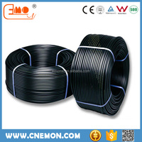 Black HDPE roll pipe