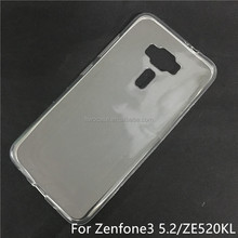 Soft TPU Silicon Transparent Clear case for Asus zenfone 3/ZE520KL