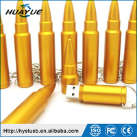 H2 Tested Bullet Shape Metal USB2.0/USB 3.0 Flash Drive