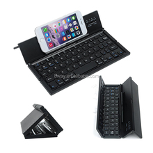 Durable Foldable wireless 3.0 keyboard Aluminum alloy for smart phones and tablets with View