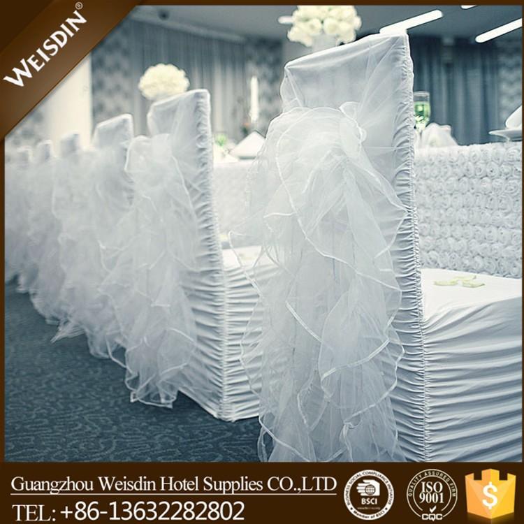 buy ruffle wedding chair covers ruffle chair sash fancy chair covers