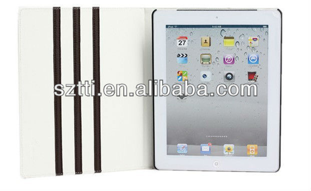 2013 new product hot selling smart cover for ipad2/3/4 from shenzhen factory