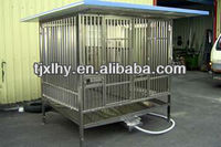 Newest collapsible iron pet cage for dogs, with two doors