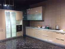 Commercial kitchen cabinet with kitchen cabinet aluminum frame glass door