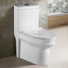 Siphonic water closet one piece western toilet price sanitary ware in bathroom