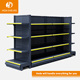 Manufacturer retail customized metal rack shelf supermarket shelving for store display