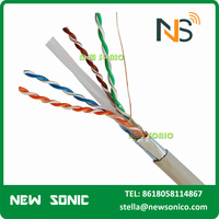 Free Sample FTP Cat6 Jumper Cable 1000m UTP Cat5e Lan Cable 1m 2m 5m AMP Patch Cord Customization Length