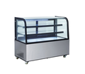 400L Commercial Cake Display Case With Two Adjustable Glass Shelves