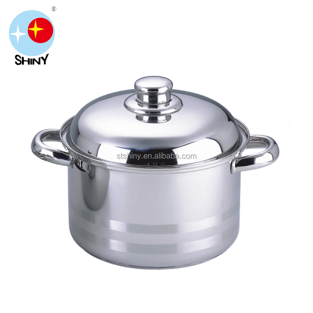 Food grade 201ss high quality cooking stock pots