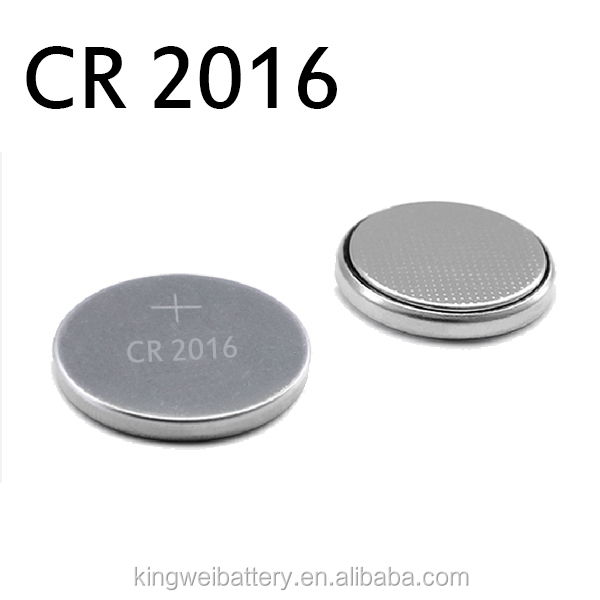CR2016 3 Volt Lithium Coin Battery 2016 New & Genuine Lithium CR2016 calculator 3V battery