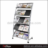 Hot sale and good quality picture display racks and stands ZH-2014142