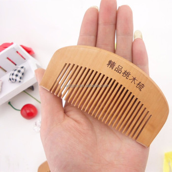 hot sale style comb,cheap personalized wooden magic hair beard comb