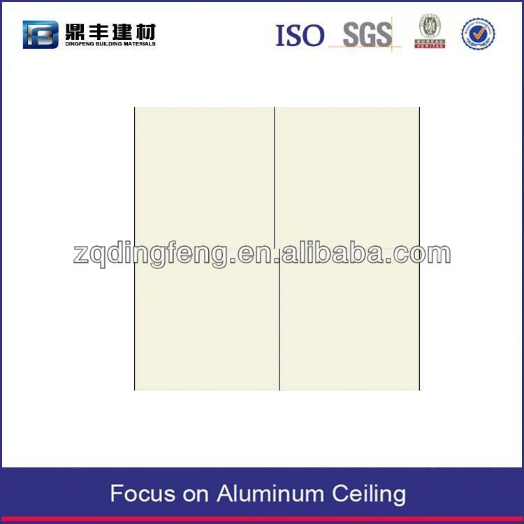 square ceiling suspended perforated acoustic absorption aluminum ceiling tiles ceiling tile cloud