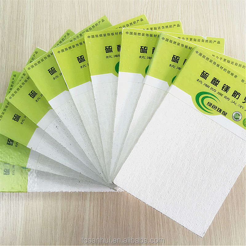Fireproof magnesium sulfate board MGO board