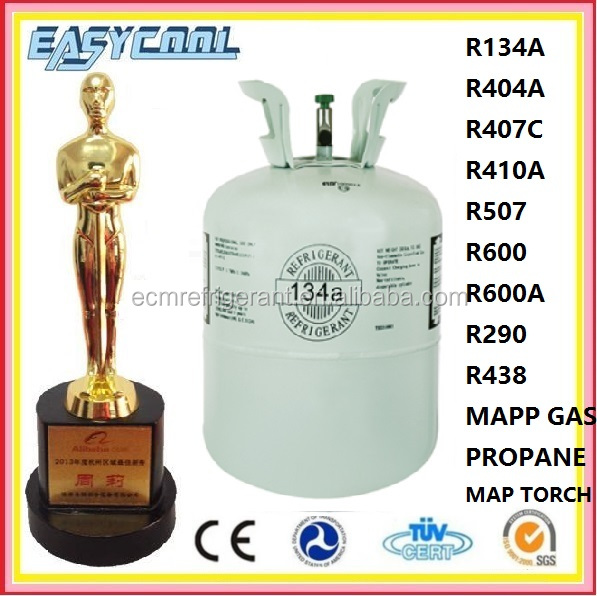 refrigerant substitute R-134a for Auto Car Air Conditioner r134a Gas 134a