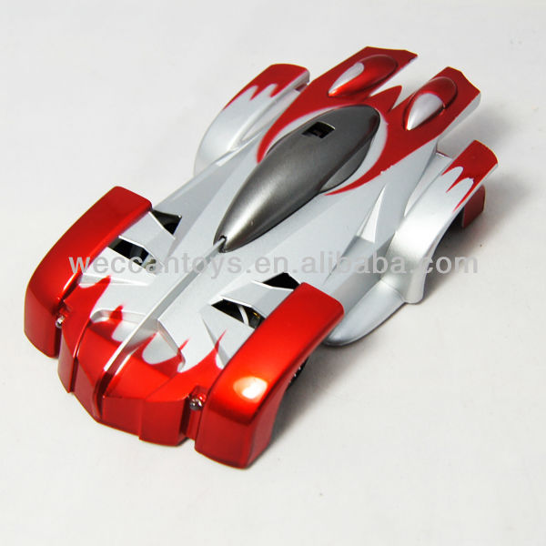 iS600 2013 Hot Model! mini rc wall climber car for kids control by mobile phone