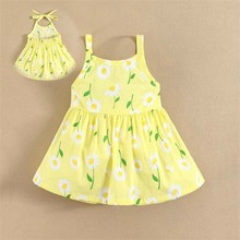 Cool Summer 2015 mom and bab Kids Top Clothes Brands Girls Wear with Shoulder Straps