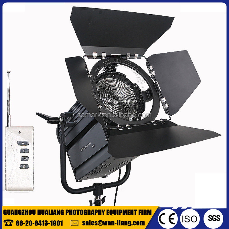 professional photographic equipment Qihe studio film 200w led fresnel light