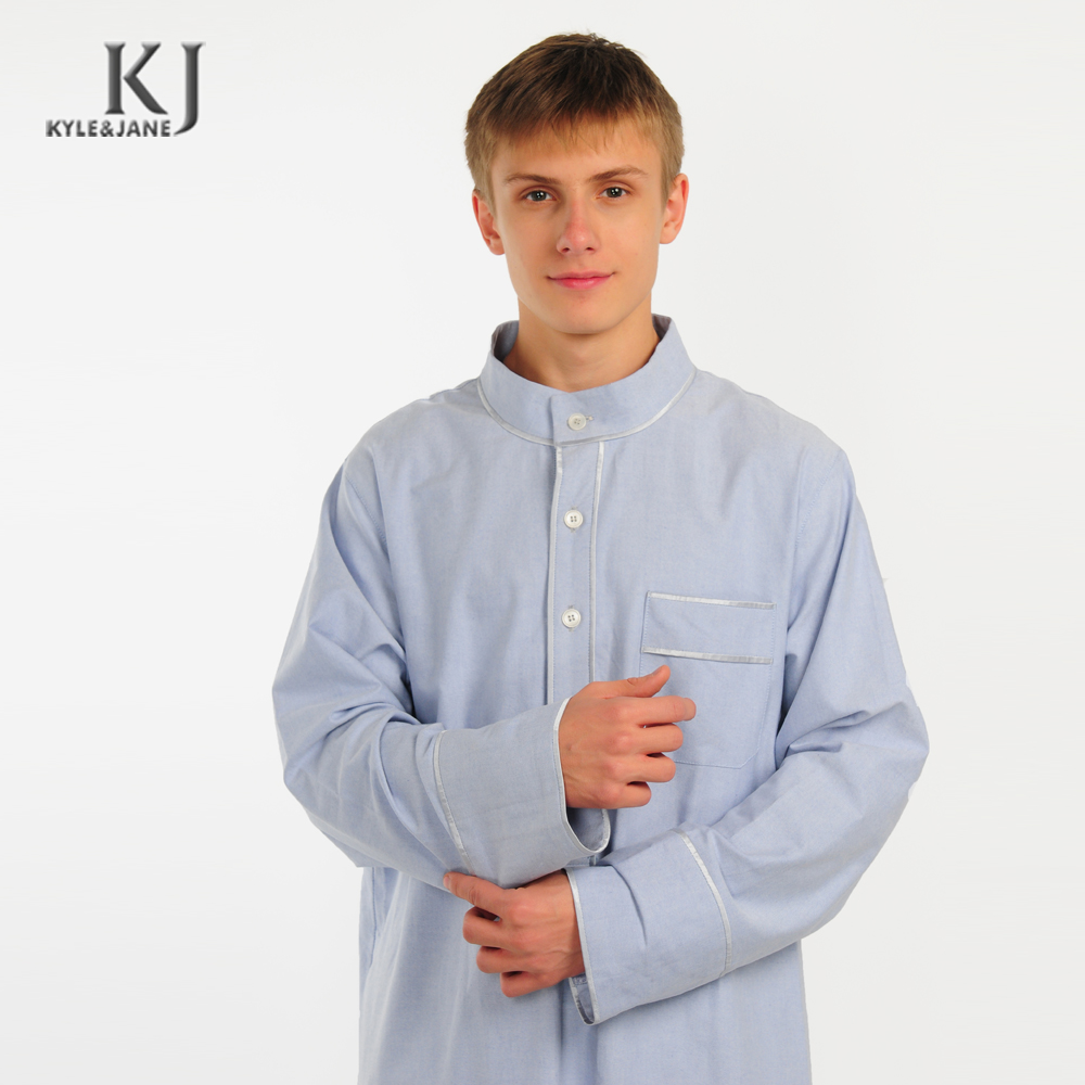 Hot selling New Arrival OEM Muslim Robe Latest islamic man thobe Prayer Clothing Arabia light blue Thobe Daily Clothes with fact