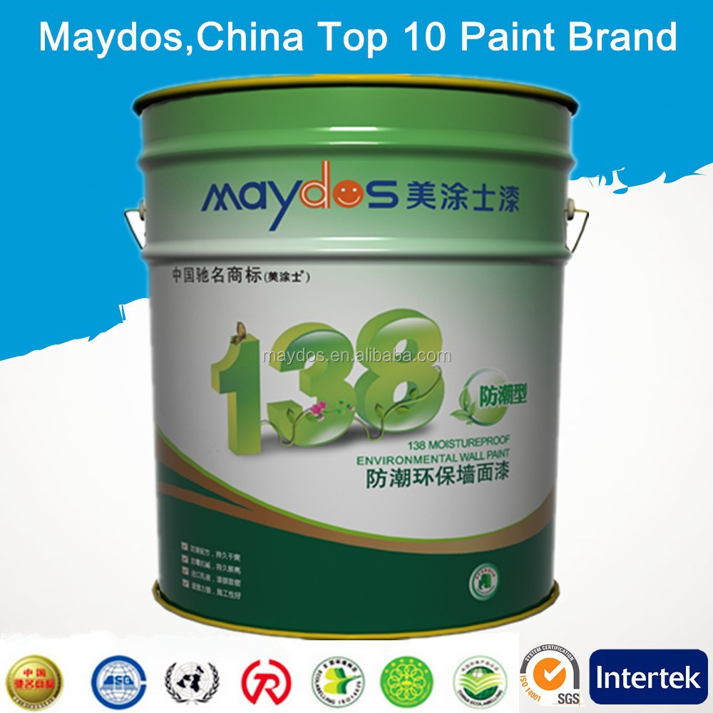 Maydos Water Base Acrylic Interior Emulsion Wall Paint(China Top 5 Paint Factory)