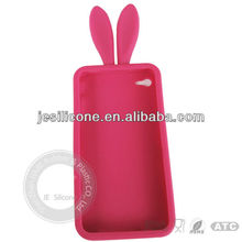 Rabbit ear silicone mobile phone protector case/cover