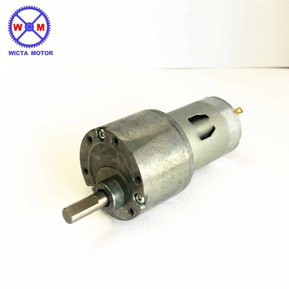 Low RPM High Torque Metal gearbox Electric Dc motor for Vending Machine, 12v dc gear drive motor