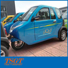 cabin electric three wheel scootcar low speed model with leather seats/auto windows/MP3/radio for sale