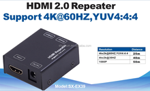 4k 18 Gbps HDMI 2.0 repeater 25m to 50m, with USB to DC cable