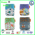 2017 new Happy flute baby reusable cloth diaper