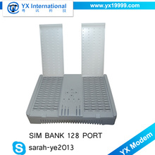 Remote&Centralized goip sim bank 32 , avoid sim blocking sim card clone bank, 32 port universal immo emulator for call terminal