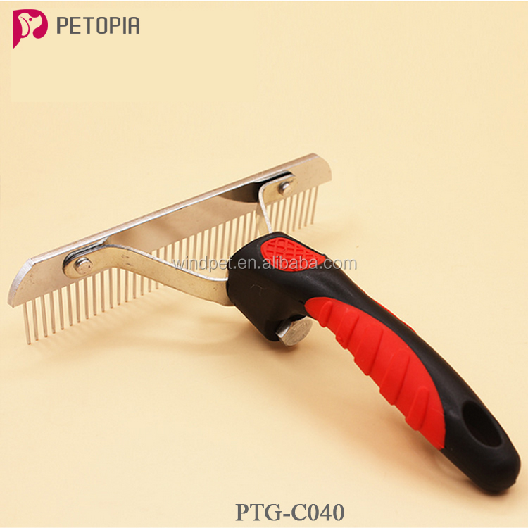 Pet cleaning tools Demattng comb large shedding tool for dogs