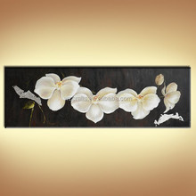 Beautiful Butterfly Orchid Flower Oil Painting for Wall Deroration