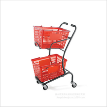 600D Durable Insulated Shopping Trolley Bag For Food Delivery