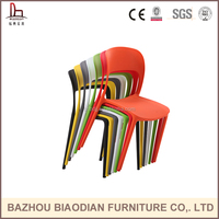 Outdoor furniture home furniture general use and plastic pp material modern cafe chairs