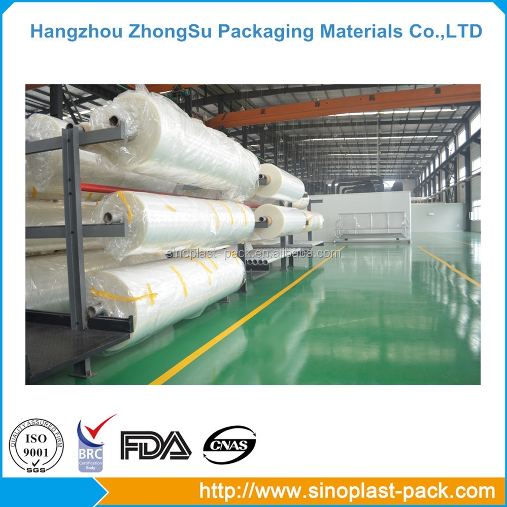 PA PE EVOH plastic lidding film for meat tray packaging