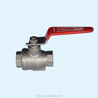 manufacturer of stainless steel 2pc thread ball valve