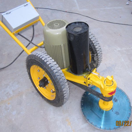 Road and Concrete pile cutting machine