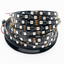 12v RGB smd 5050 soft led strip ws2811 in magic color 5 meter