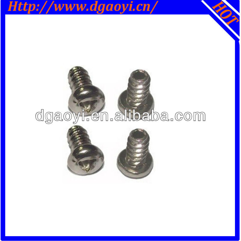 triangle driver pan head micro and minature screws