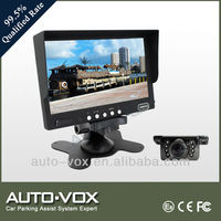 "7"" LCD TFT COLOR MIRROR MONITOR FOR CAR REARVIEW REVERSE CAMERA"