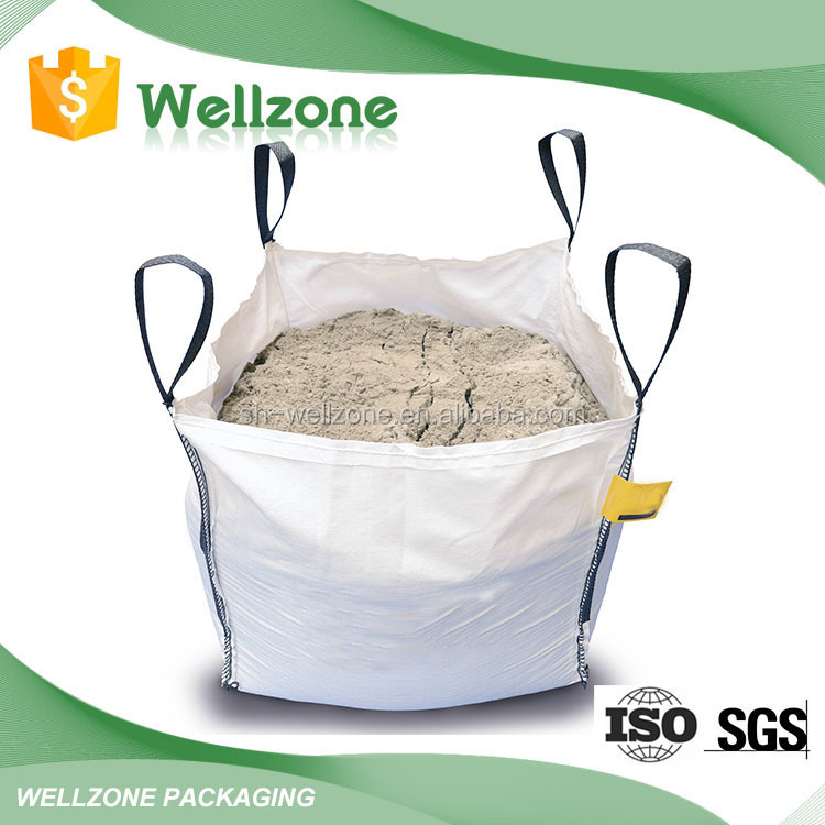 Recyclable Used Bulk Sand Super Sacks Big Bags 500kg
