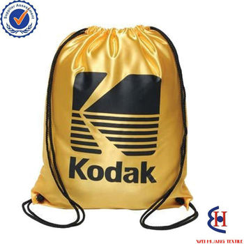 Wholesale drawstring backpack made of nylon material